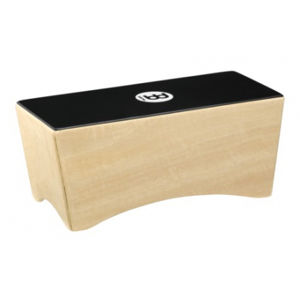 MEINL BCA2NT/EBK-M Bongo Cajon - Natural/Ebony Black