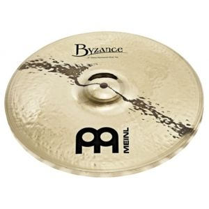 MEINL Byzance Brilliant Heavy Hammered Hi-hat 14""