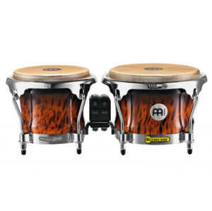 MEINL FWB400BB Professional Series FWB400 Wood Bongo - Brown Burl