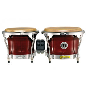 MEINL FWB400CR Professional Series FWB400 Wood Bongo - Cherry Red
