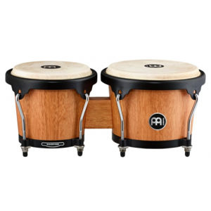 MEINL HB100SNT-M Headliner Series HB100 Wood Bongo - Super Natural