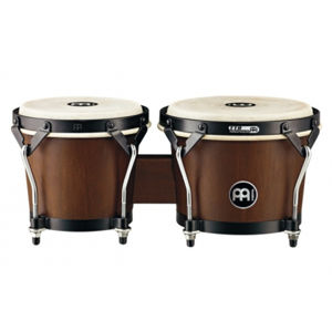 MEINL HTB100WB-M Headliner Series HTB100 Wood Bongo - Walnut Brown