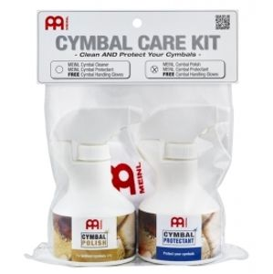 MEINL MCCK-MCP Cymbal Care Kit - Cymbal Polish