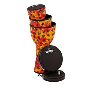 MEINL VR-SDJSET-NH VivaRhythm Soft Sound Series 3-IN-1 Djembe Set