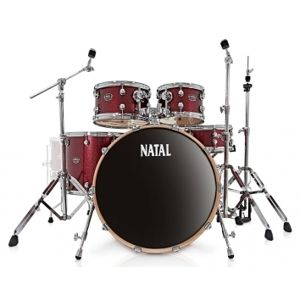 NATAL DRUMS Arcadia Fusion - Red Sparkle