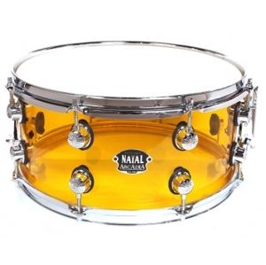 NATAL DRUMS S-AC-S455-ON1 Arcadia Acrylic - Transparent Orange