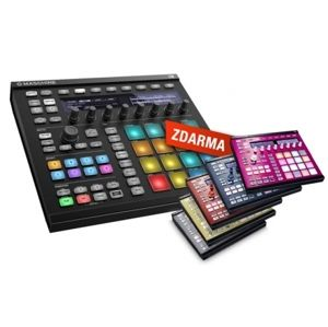 NATIVE INSTRUMENTS Maschine MK2 Black + Custom kit zdarma