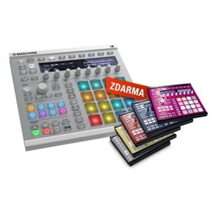 NATIVE INSTRUMENTS Maschine MK2 White + Custom kit zdarma