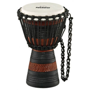 NINO PERCUSSION NINO-ADJ3-XS Earth Rhythm Series Djembe X-SMALL - Brown/Black