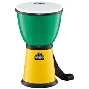 NINO PERCUSSION NINO18G/Y ABS Djembe - Green/Yellow