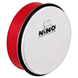 "NINO PERCUSSION NINO4R ABS Hand Drum 6"" - Red"