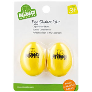 NINO PERCUSSION NINO540Y-2 Egg Shaker Pair - Yellow