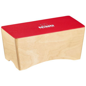 NINO PERCUSSION NINO931R Bongo Cajon - Red