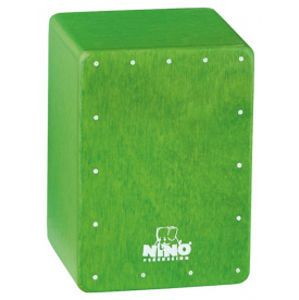 NINO PERCUSSION NINO955GR Mini Cajon Shaker - Green