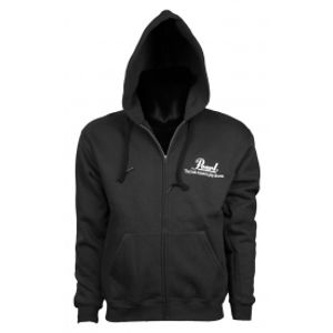 PEARL Hooded Zip Sweater Men Black - velikost S