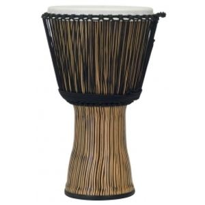 PEARL PBJVR-14/698 Synthetic Shell Djembe Rope Tuned - Zebra Grass