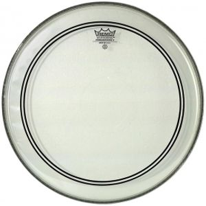 """REMO Powerstroke 3 Bass Clear 18"""" - Clear Dot"""