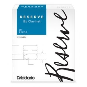 RICO DCR10405 Reserve - Bb Clarinet Reeds 4.0+ - 10 Box