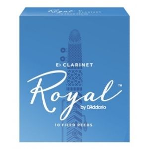 RICO RBB1020 Royal - Eb Clarinet Reeds 2.0 - 10 Box