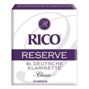 RICO RCR1040D German Reserve Classic - Bb Clarinet 4.0 - 10 Box