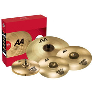 SABIAN AA Raw Bell Promo Pack Brilliant