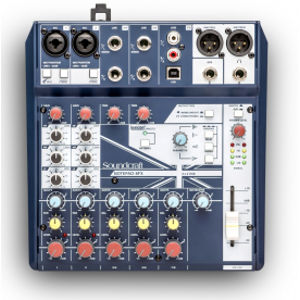 SOUNDCRAFT Notepad-8FX B STOCK