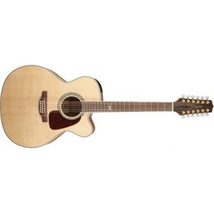 TAKAMINE GJ72CE-12, Rosewood Fingerboard - Natural