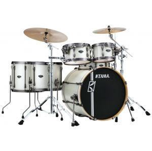 TAMA ML52HLZBN-SAP Superstar Hyper-Drive Maple - Satin Arctic Pearl