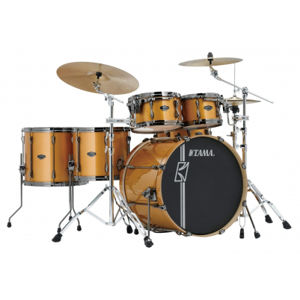 TAMA ML52HLZBNSGYM Superstar Hyper-Drive Maple - Golden Yellow Metallic