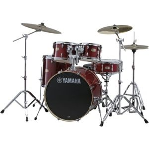YAMAHA Stage Custom Birch SBP0F5CR Cranberry Red